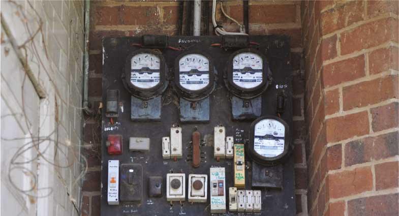 Electrical meter boards